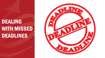 FAQ Series: Dealing with (Missed) Deadlines