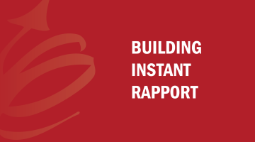 Building Instant Rapport