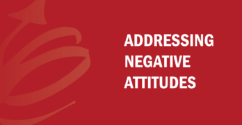 addressing negative attitudes When addressing negative attitudes, it is important to analyze the effects they are having on the office first once you have determined the severity, then you can work on how to address the employee.