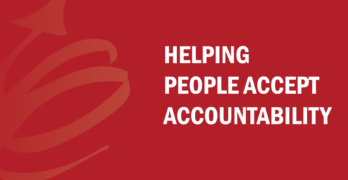 Helping People Accept Accountability