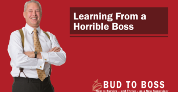 Learning From a Horrible Boss