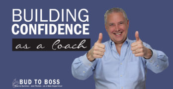 Building Confidence as a Coach